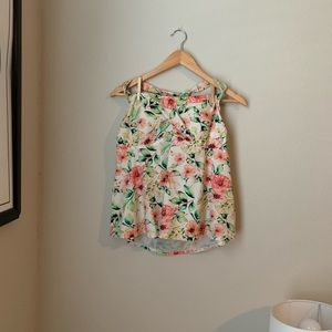 Floral Swimsuit Top - Tankini